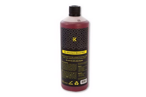 EK EKoolant Premium Premix Coolant - Blood Red - 1000mL