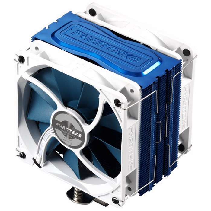 Phanteks TC12DX Blue Edition- Dual Fans Premium Cpu Cooler