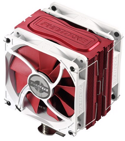 Phanteks TC12DX Red Edition- Dual Fans Premium Cpu Cooler