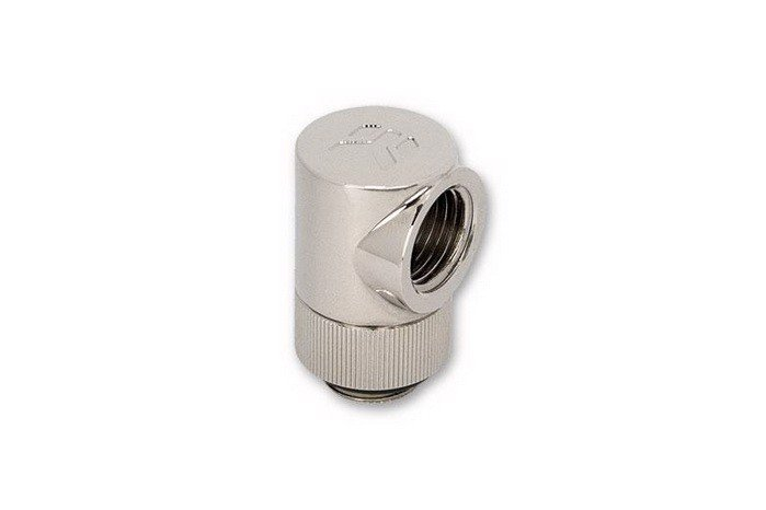 EK-CSQ 90° G1/4 Nickel Adapter Fitting