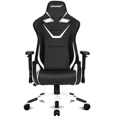 AK Racing Infinity Black/White -XXL Kingsize Gaming Chair