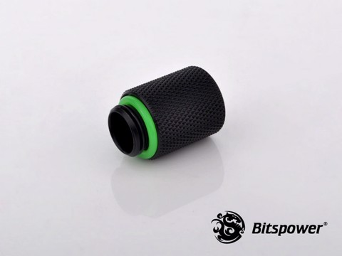 Bitspower G1/4'' Matt Black IG1/4'' Extender-20MM