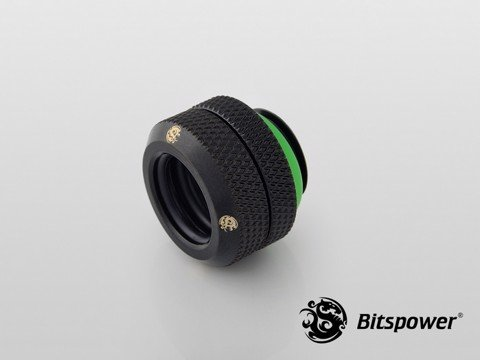 Bitspower G1/4'' Matt Black Enhance Multi-Link For OD 12MM
