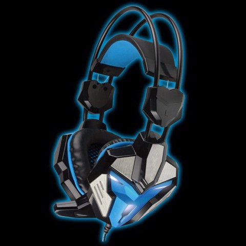 FoxXray Glare Blue -3D Precision Gaming Headset