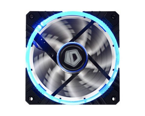 ID Cooling Concentric Circular CF-12025 Blue Led - PWM High Performance Fan