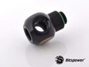Bitspower G1/4'' Matt Black Q Plus-Rotary IG1/4''X3 Extender
