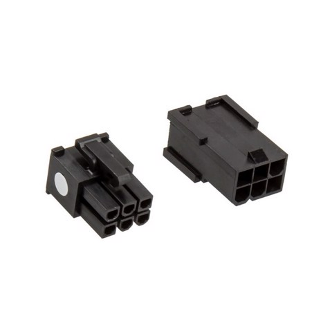 CableMod Connector Pack – 6 pin PCI-e – Black