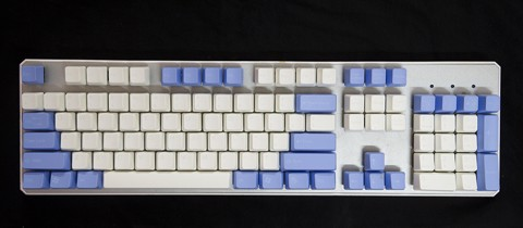 Tai-Hao Double Shot ABS Clouds N Skies mixed - Full 104 keys