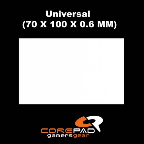 Corepad Skatez Pro for Universal Use  -100% PTFE Mouse feet