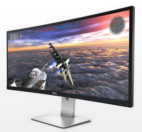 Dell UltraSharp U3415W Curved - Ultra Wide 10Bit IPS LCD