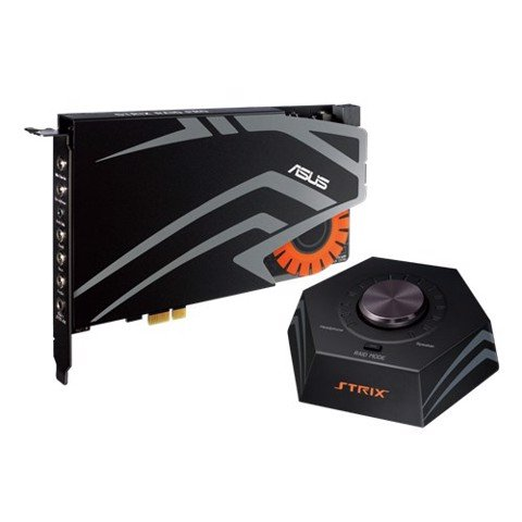 Asus STRIX Raid Pro - 7.1 PCIe gaming sound card set with an audiophile-grade DAC and 116dB SNR