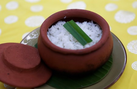 Rice coconut