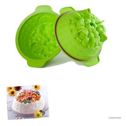Khuôn bánh silicone SFT322/ GREEN