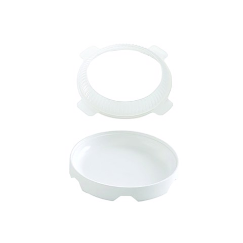 Khuôn bánh silicone ECL180/ WHITE ECLIPSE