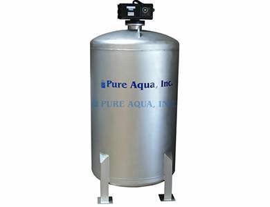 Commercial Stainless Tank Water Media Filter MF-450 with Fleck Valve