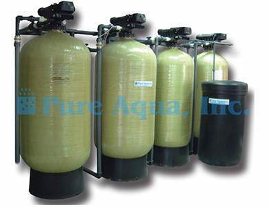 Commercial FRP Water Media Filtration System MF-500 with Autotrol Valve