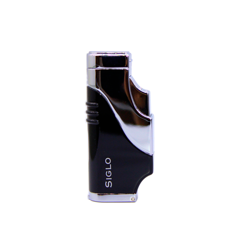 Bật lửa cigar Siglo Triple Frame Lighter đen