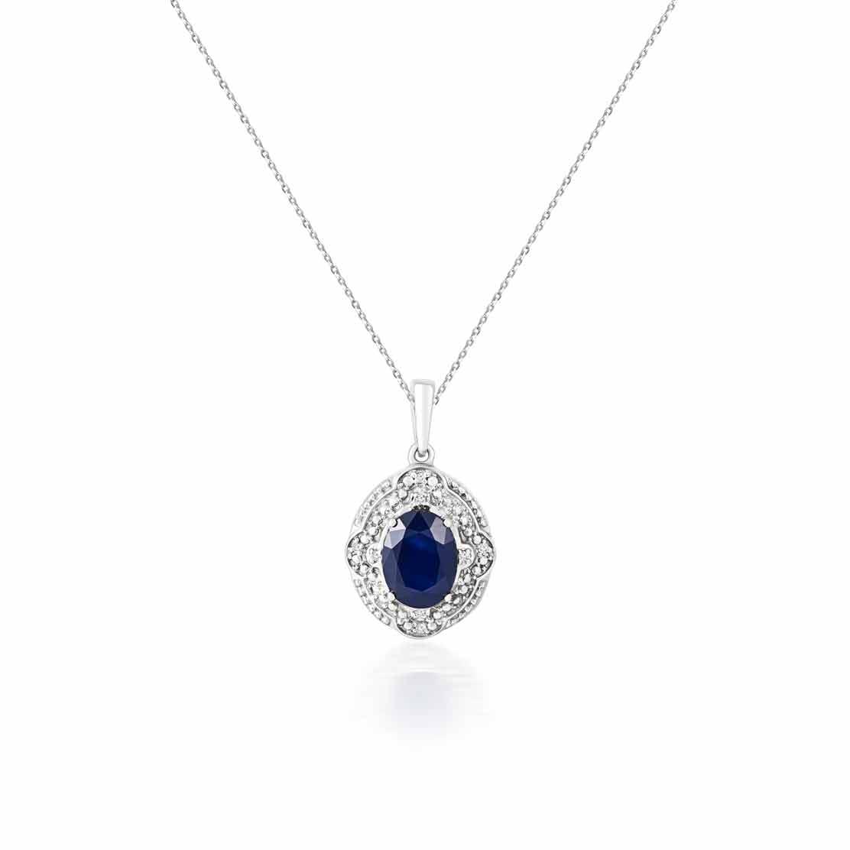 Mặt dây kim cương Secret & Sapphire