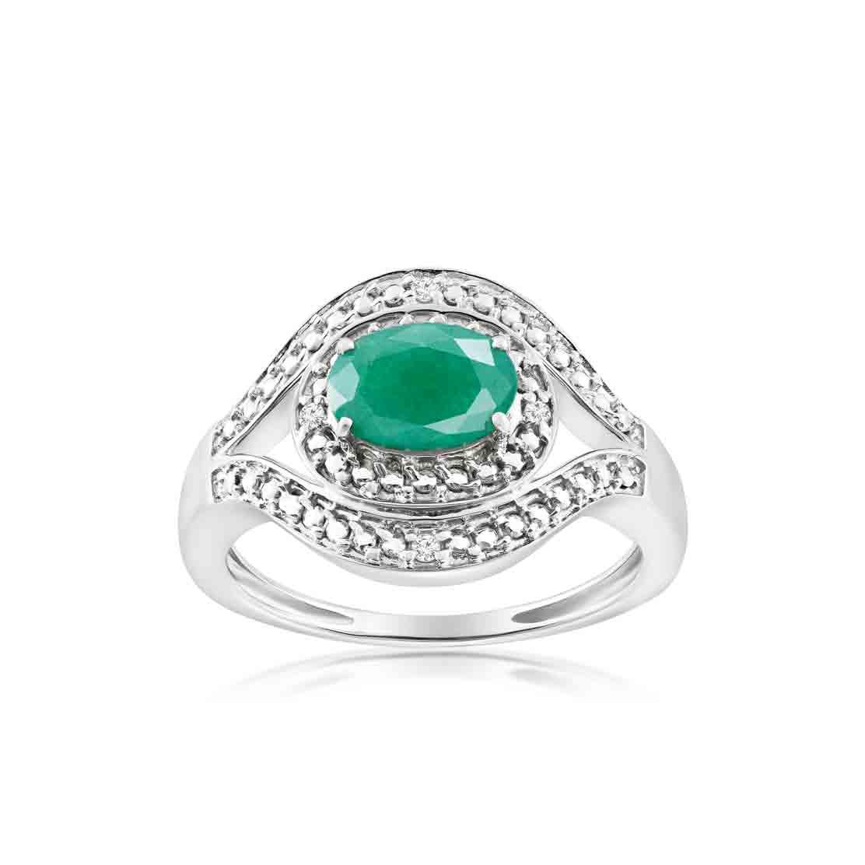 Nhẫn Secret Diamond & Emerald
