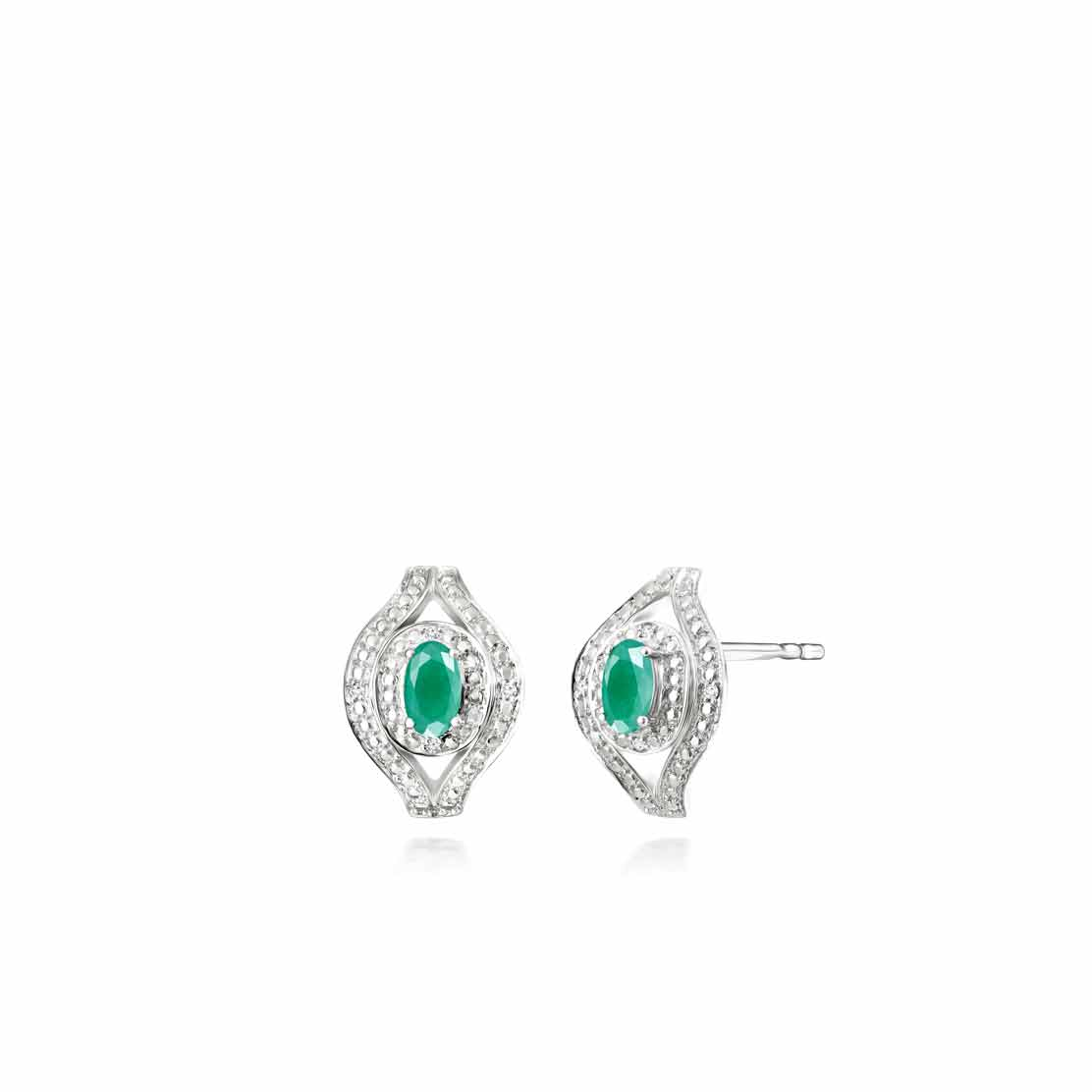 Hoa tai Secret Diamond & Emerald