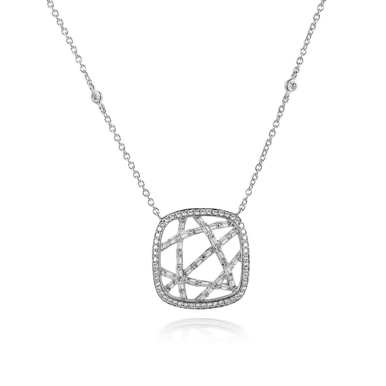 Dây chuyền kim cương Criss and Cross