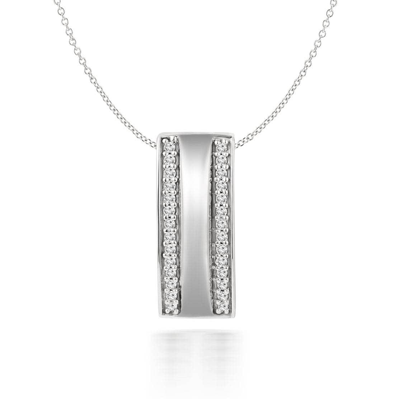 Mặt dây Parallel Diamond