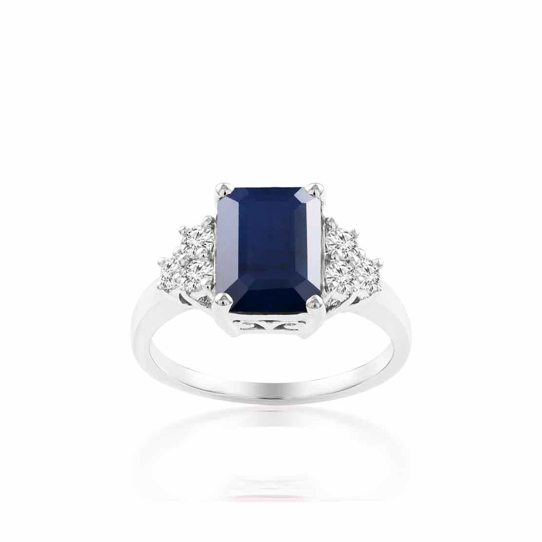 Nhẫn kim cương Shining Sapphire