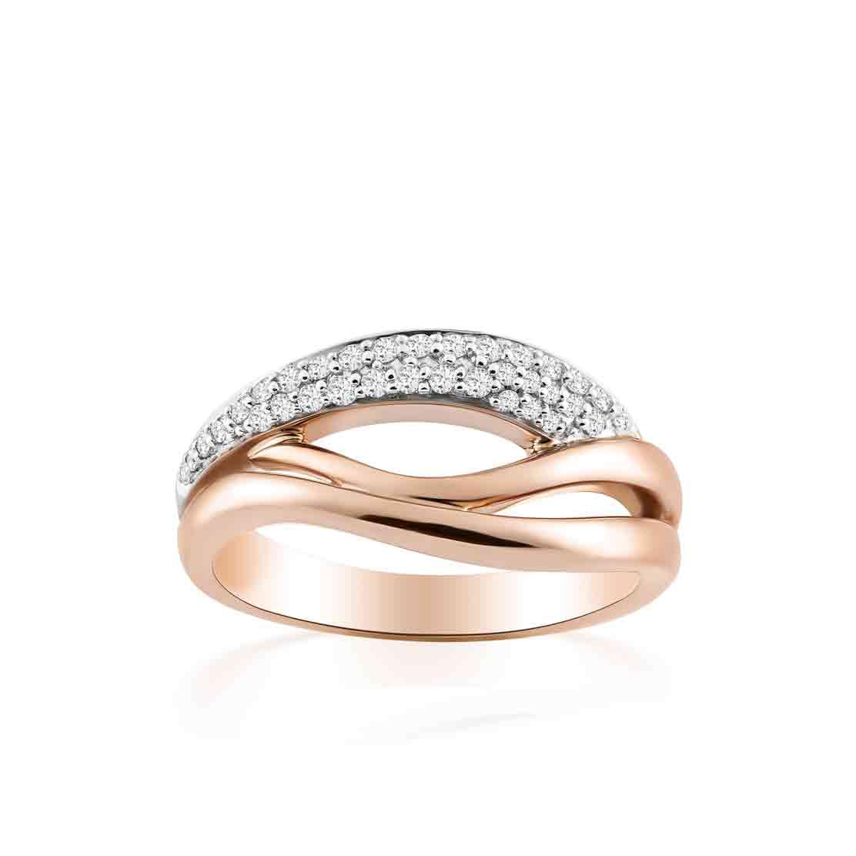 Nhẫn kim cương Rose Lips