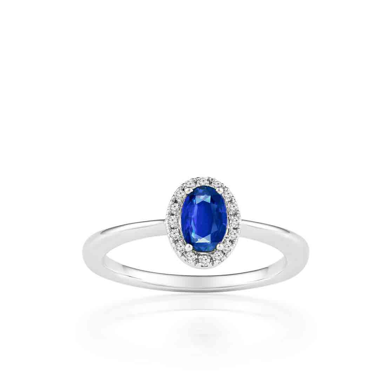 Nhẫn kim cương Sapphire Love