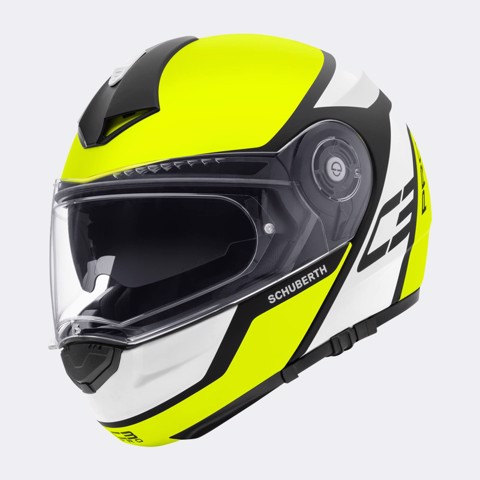 SCHUBERTH C3 PRO ECHO YELLOW - M