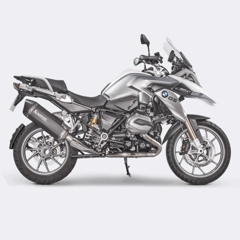 AKRAPOVIC BMW R1200 GS 2017 HEADER TITAN