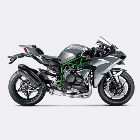 AKRAPOVIC KAWASAKI H2 EVOLUTION CARBON