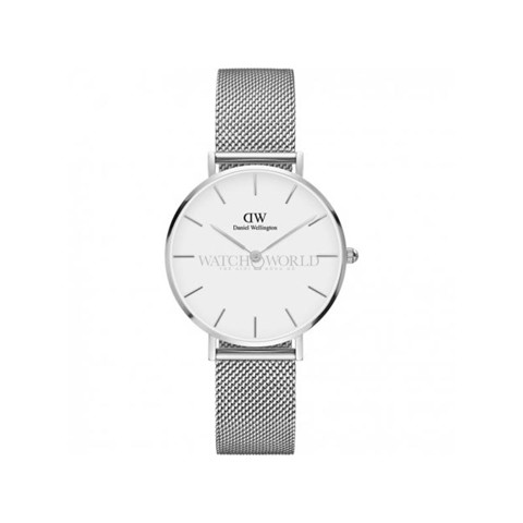 DANIEL WELLINGTON - Classic Petite 32mm Silver Sterling White - Ladies Watch