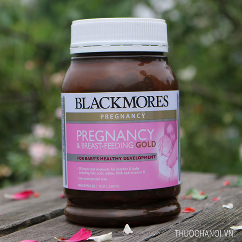 Vitamin cho bà bầu Blackmores Pregnancy & Breastfeeding Gold