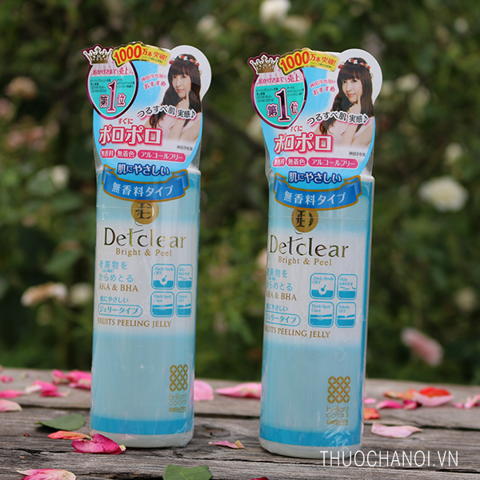 Tẩy da chết Meishoku Detclear Bright & Peel Fruits Peeling Jelly