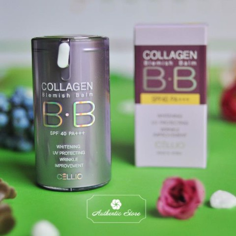 Kem BB Cellio Collagen blemish balm BB cream SPF 36 PA++