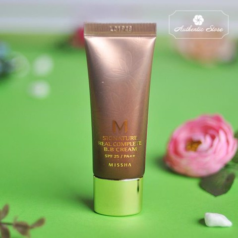 Kem BB Missha signature real complete BB cream