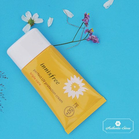 Kem chống nắng Innisfree perfect UV Triple care SPF 50