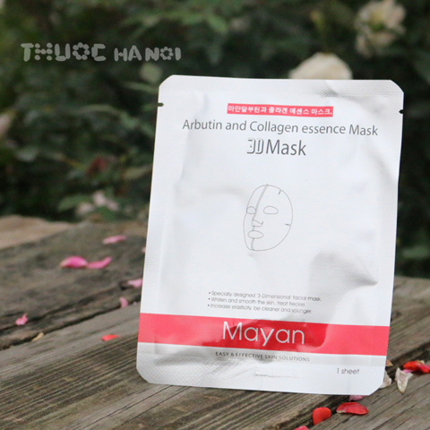 Mặt nạ Mayan 3D Collagen & Q10 Essence Mask