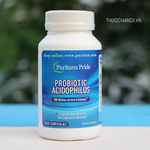 Men tiêu hóa Probiotic Acidophilus Puritan's Pride