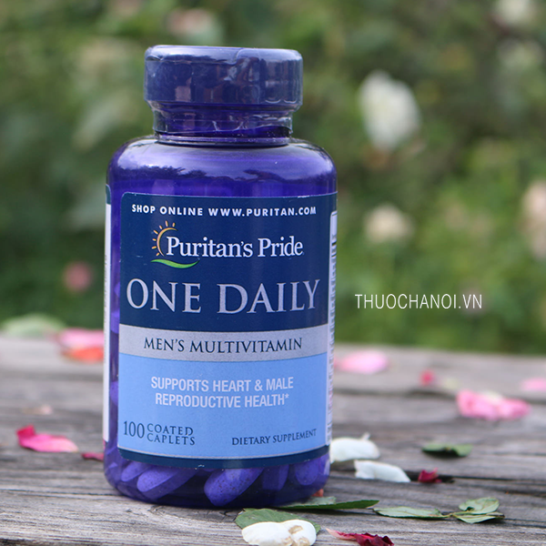 Vitamin cho nam giới One Daily Men's Multivitamin Puritan's Pride