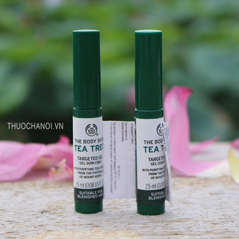 Gel trị thâm mụn The Body Shop tea tree gel