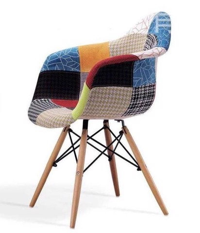DAW Fabric Arm Chair