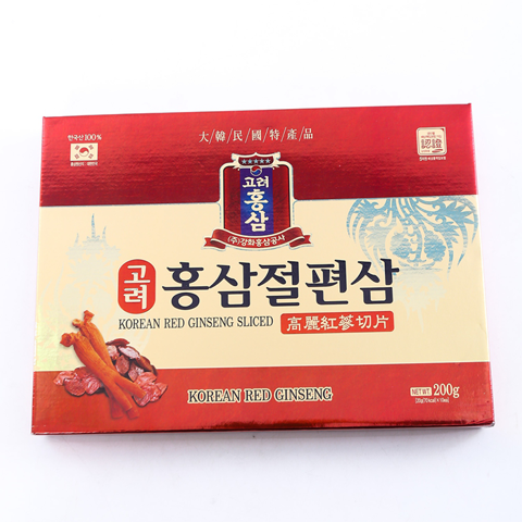 Korean Red Ginseng Sliced - Sâm Cắt Lát