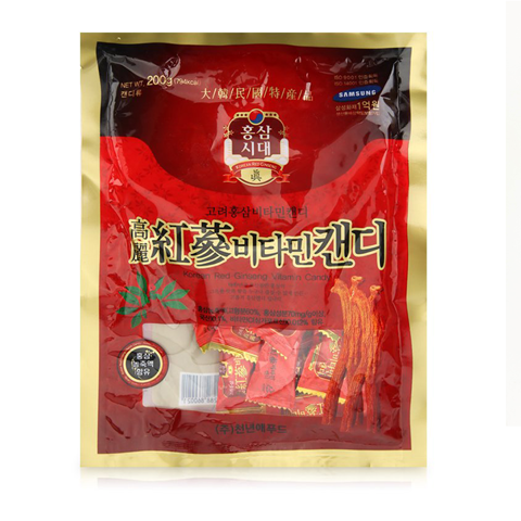 Kẹo Korean Red Ginseng Vitamin Candy