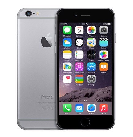 iPhone 6 16GB Gray zin keng
