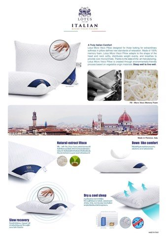 Gối Micro Visco Pillow