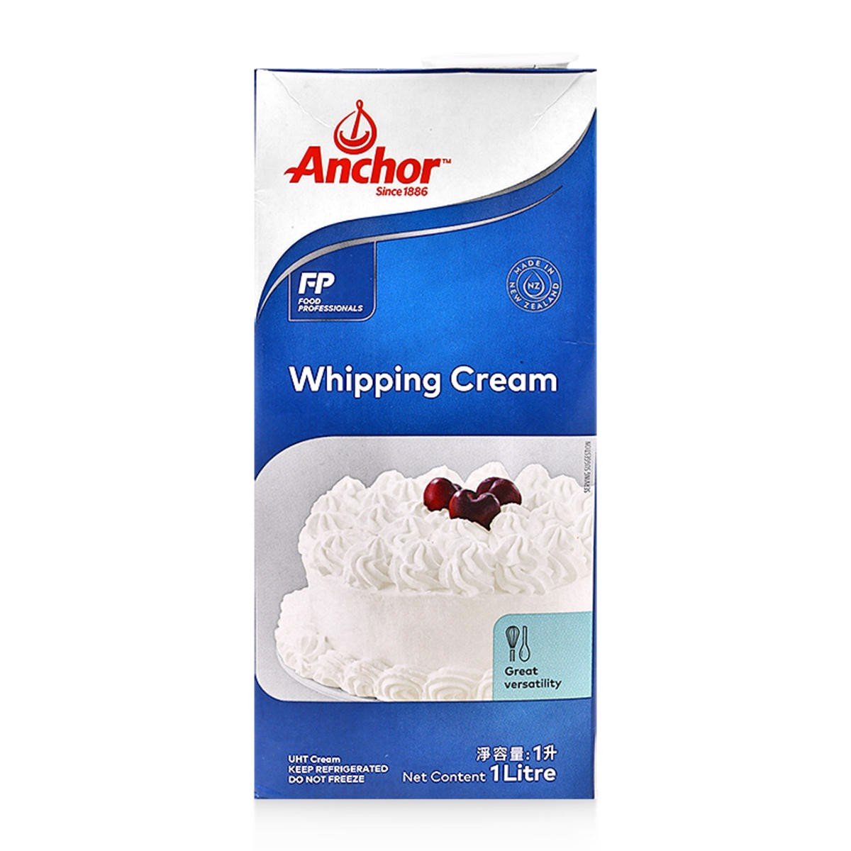 Whipping Cream Anchor hộp 1L