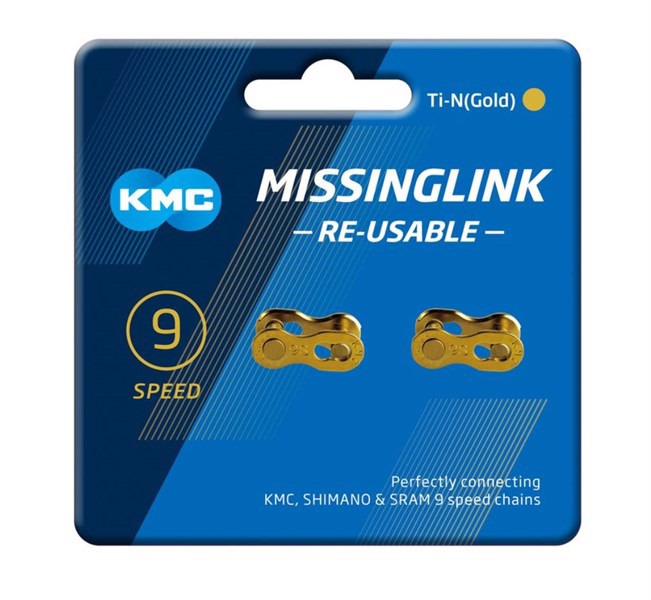 Master link KMC cho sên 9s ( Re-use able ) bộ 2 cặp