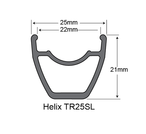 Niềng SunRingle Helix TR25SL
